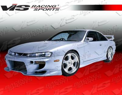 VIS Racing - Nissan 240SX VIS Racing Invader Side Skirts - 95NS2402DINV-004