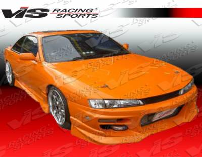 VIS Racing - Nissan 240SX VIS Racing V Spec S Side Skirts - 95NS2402DVSCS-004