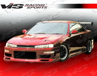 VIS Racing - Nissan 240SX VIS Racing Z Speed Side Skirts - 95NS2402DZSP-004