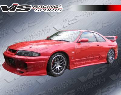 VIS Racing - Nissan Skyline VIS Racing Demon Side Skirts - 95NSR33GTRDEM-004