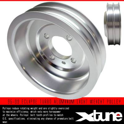 Custom - TURBO ALUMINUM LIGHT WEIGHT PULLEY
