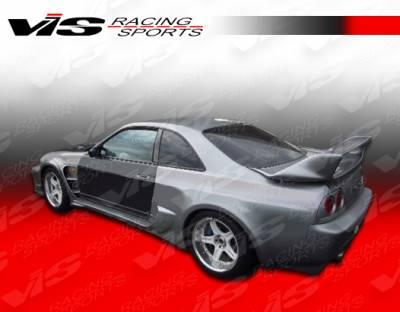 VIS Racing - Nissan Skyline VIS Racing Invader GT Side Skirts - 95NSR33GTRINVGT-004