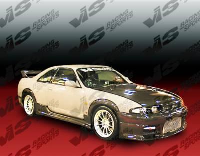VIS Racing - Nissan Skyline VIS Racing Terminator Side Skirts - 95NSR33GTRTM-004