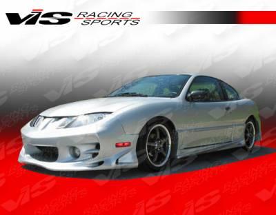 VIS Racing - Pontiac Sunfire VIS Racing Ballistix Side Skirts - 95PTSUN2DBX-004