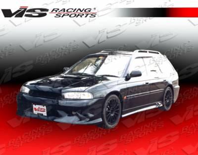 VIS Racing - Subaru Legacy VIS Racing Gemini Side Skirts - 95SBLEG4DGEM-004