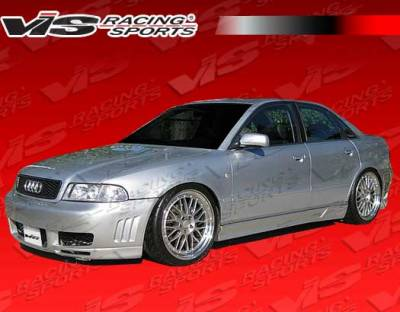 VIS Racing. - Audi A4 VIS Racing A Tech Side Skirts - 96AUA44DATH-004