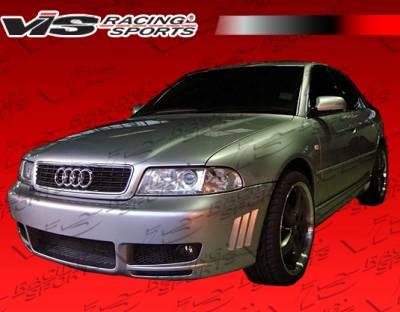 VIS Racing - Audi A4 VIS Racing RSR Side Skirts - 96AUA44DRSR-004