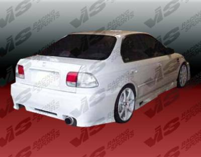 VIS Racing - Honda Civic 4DR VIS Racing Z1 boxer Side Skirts - 96HDCVC4DZ1-004