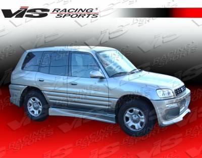 VIS Racing - Toyota Rav 4 VIS Racing Ballistix Side Skirts - 96TYRAV4DBX-004