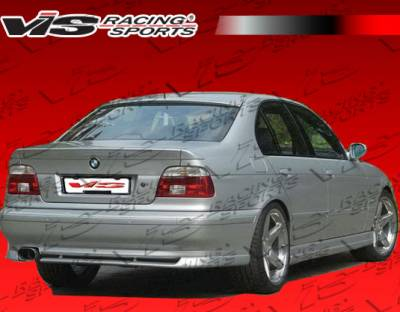 VIS Racing - BMW 5 Series VIS Racing A Tech Side Skirts - 97BME394DATH-004