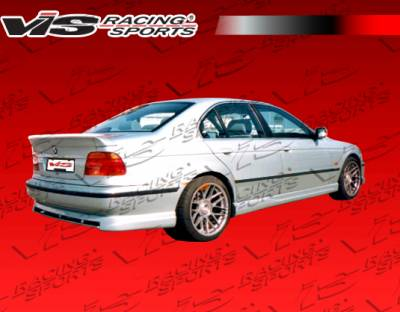 VIS Racing - BMW 5 Series VIS Racing M Tech Side Skirts - 97BME394DMTH-004