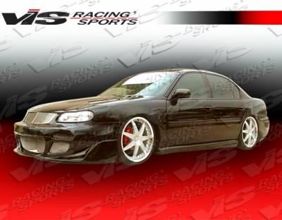 VIS Racing - Chevrolet Malibu VIS Racing Cyber Side Skirts - 97CHMAL4DCY-004