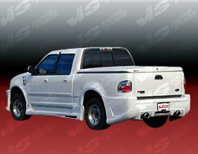 VIS Racing - Ford F150 VIS Racing Outcast Side Skirts - 97FDF154DSCOC-004