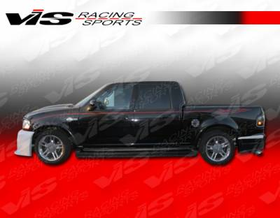 VIS Racing - Ford F150 VIS Racing Outlaw Side Skirts - 97FDF154DSCOL-004