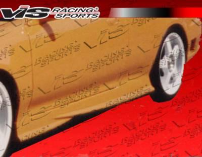 VIS Racing - Honda Prelude VIS Racing EVO Side Skirts - 97HDPRE2DEVO-004