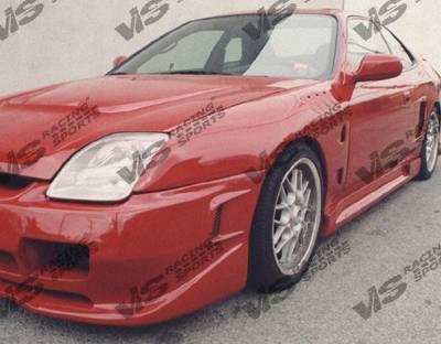 VIS Racing - Honda Prelude VIS Racing Omega Side Skirts - 97HDPRE2DOMA-004