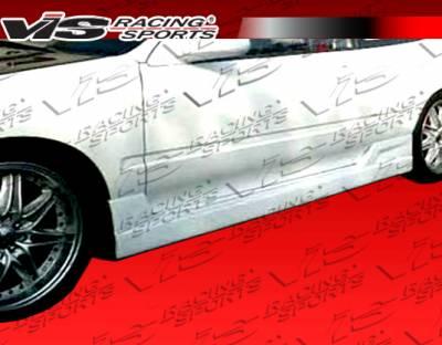 VIS Racing - Honda Prelude VIS Racing TSC Side Skirts - 97HDPRE2DTSC-004