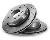 Custom - Ultimate Brake Rotor Set - Rear