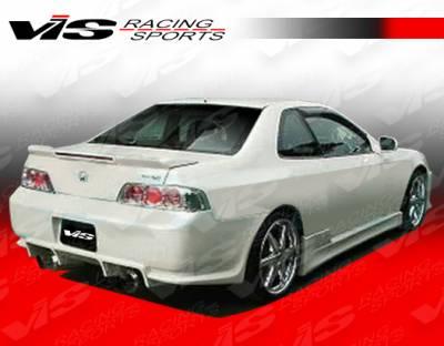 VIS Racing - Honda Prelude VIS Racing V Speed Side Skirts - 97HDPRE2DVSP-004