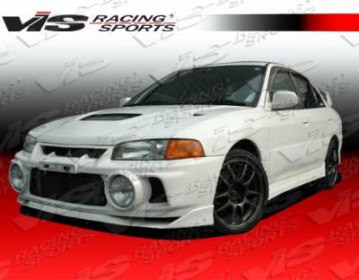 VIS Racing - Mitsubishi Mirage 4DR VIS Racing Evolution-5 Side Skirts - 97MTMIR4DEVO5-004