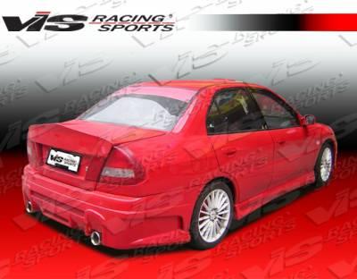 VIS Racing - Mitsubishi Mirage 4DR VIS Racing Rally Side Skirts - 97MTMIR4DJRAL-004