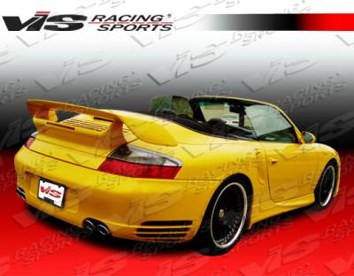 VIS Racing - Porsche Boxster VIS Racing D2 Side Skirts - 97PSBOX2DD2-004