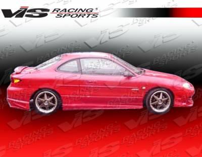 VIS Racing - Ford ZX2 VIS Racing Ballistix Side Skirts - 98FDZX22DBX-004