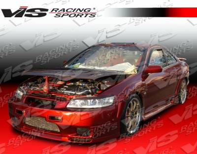 VIS Racing - Honda Accord 2DR VIS Racing Omega Side Skirts - 98HDACC2DOMA-004