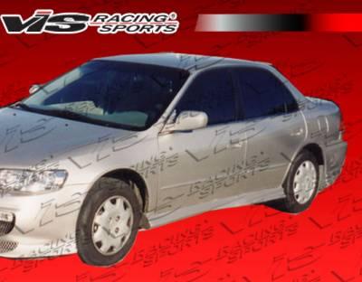 VIS Racing - Honda Accord 4DR VIS Racing Xtreme Side Skirts - 98HDACC4DEX-004