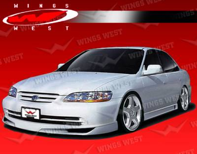 VIS Racing - Honda Accord 4DR VIS Racing JPC Side Skirts - Polyurethane - 98HDACC4DJPC-004P