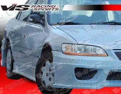VIS Racing - Honda Accord 4DR VIS Racing Prodigy Side Skirts - 98HDACC4DPRO-004