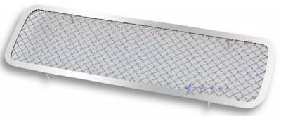 APS - Nissan Titan APS Wire Mesh Grille - Bumper - Stainless Steel - N75413S