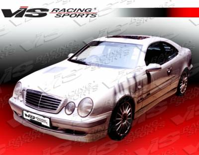 VIS Racing - Mercedes-Benz CLK VIS Racing C Tech Side Skirts - 98MEW2082DCTH-004