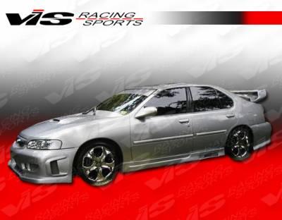 VIS Racing - Nissan Altima VIS Racing Z1 boxer Side Skirts - 98NSALT4DZ1-004