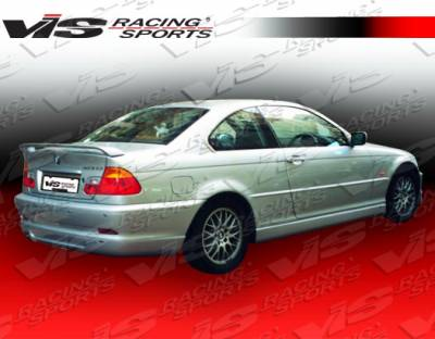 VIS Racing - BMW 3 Series 2DR VIS Racing A Tech Side Skirts - 99BME462DATH-004