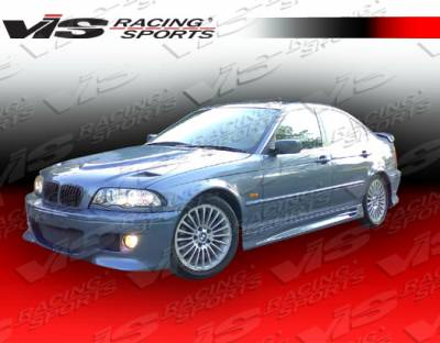 VIS Racing - BMW 3 Series 2DR VIS Racing M5 Side Skirts - 99BME462DM5-004