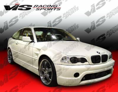VIS Racing - BMW 3 Series VIS Racing Racing Design Side Skirts - 99BME462DRDN-004