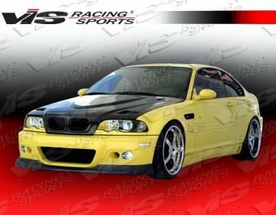 VIS Racing - BMW 3 Series VIS Racing R Tech Side Skirts - 99BME462DRTH-004