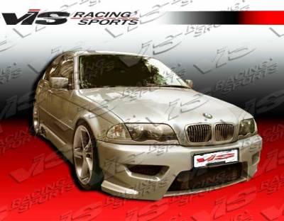 VIS Racing - BMW 3 Series 2DR VIS Racing Tachno Side Skirts - 99BME462DTNO-004