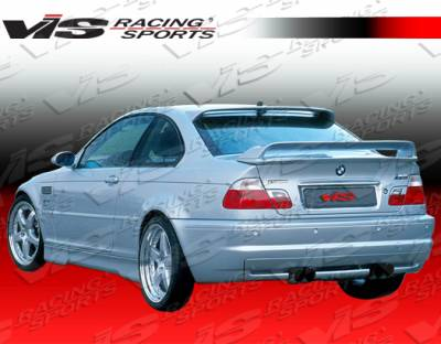 VIS Racing - BMW 3 Series 4DR VIS Racing Euro Tech Side Skirts - 99BME464DET-004