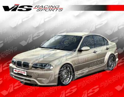 VIS Racing - BMW 3 Series 4DR VIS Racing Immense Widebody Side Skirts - 99BME464DIMMWB-004