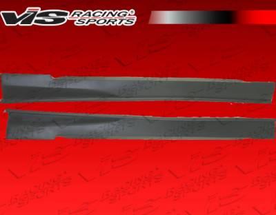 VIS Racing - Ford Mustang VIS Racing Invader-3 Side Skirts - 99FDMUS2DINV3-004