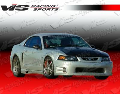 VIS Racing - Ford Mustang VIS Racing K Speed Side Skirts - 99FDMUS2DKSP-004
