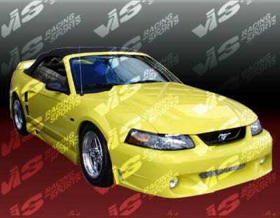 VIS Racing - Ford Mustang VIS Racing Stalker-2 Side Skirts - 99FDMUS2DSTK2-004