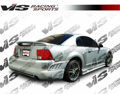 VIS Racing - Ford Mustang VIS Racing Viper Side Skirts - 99FDMUS2DVR-004