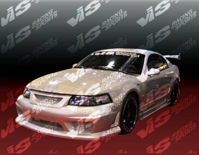 VIS Racing - Ford Mustang VIS Racing V Speed Side Skirts - 99FDMUS2DVSP-004