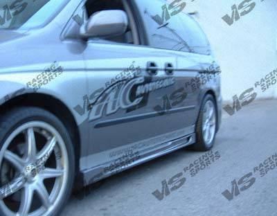 VIS Racing - Honda Odyssey VIS Racing Octane Side Skirts - 99HDODY4DOCT-004