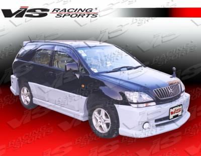 VIS Racing - Lexus RX300 VIS Racing D-Max Side Skirts - 99LXRX34DDMX-004