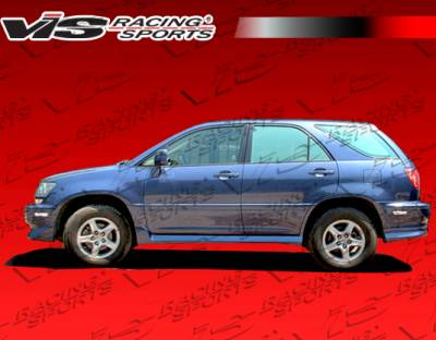 VIS Racing - Lexus RX300 VIS Racing Techno R Side Skirts - 99LXRX34DTNR-004