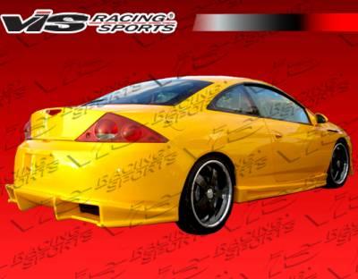 VIS Racing - Mercury Cougar VIS Racing Ballistix Side Skirts - 99MYCOU2DBX-004